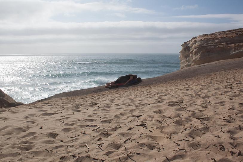 compression-beach